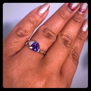 Jewelry - 💗Amethyst Sterling Silver Ring💗